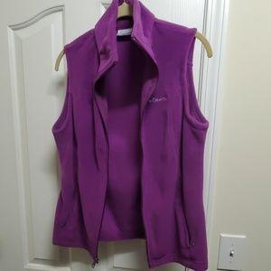 NWOT Columbia Fleece Vest